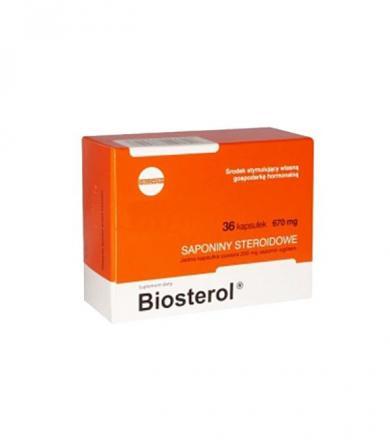 Megabol Biosterol - 36kaps.