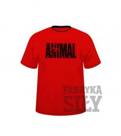 Universal Nutrition T-Shirt Animal Red