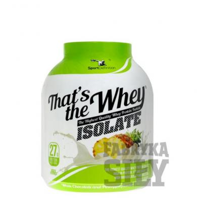 SportDefinition That's the Whey ISOLATE - 2100g