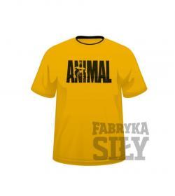 Universal Nutrition T-Shirt Animal Yellow