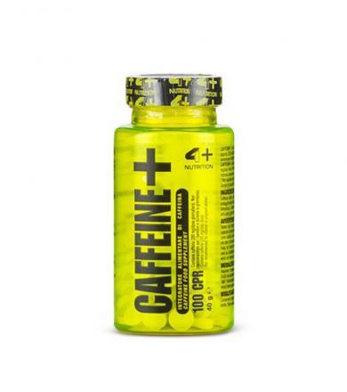 4+ Nutrition Caffeine+ - 100tabl.