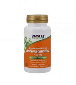 NOW Foods Ashwagandha extract – 90 kaps.​
