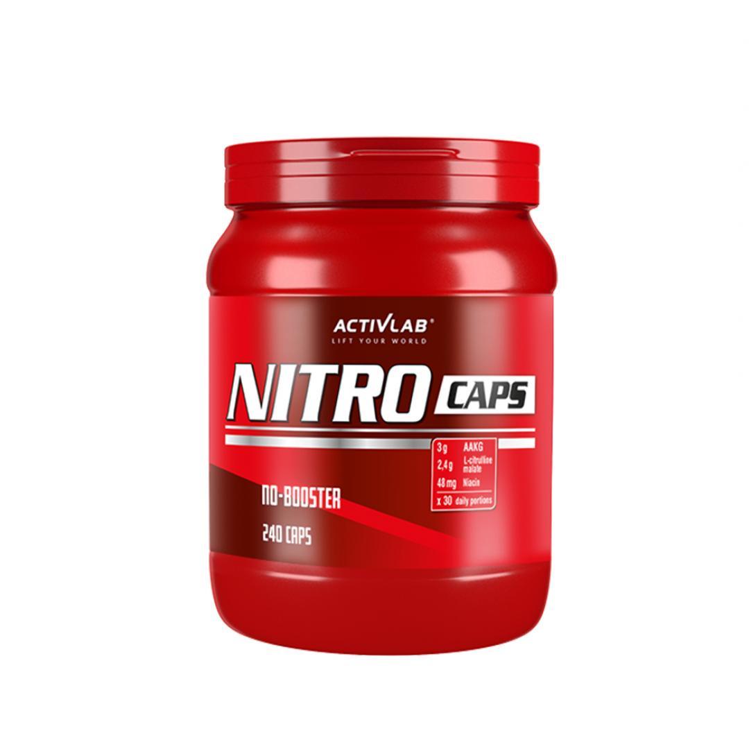 Activlab Nitro Caps - 240kaps.