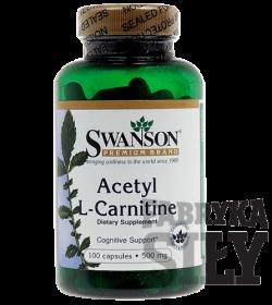 Swanson ALC (Acetyl L-Karnityny) 500mg - 100 kaps.